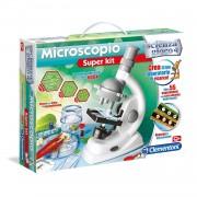 Clementoni - scienza e gioco 13967 - gioco microscopio super kit