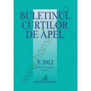 Buletinul Curtilor de Apel, Nr. 5/2012