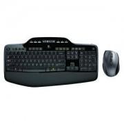 КЛАВИАТУРА и Мишка Logitech Wireless Desktop MK710, US Intl EER layout - 920-002440
