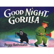 Good Night, Gorilla (Oversized Board Book) by Peggy Rathmann