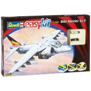 Revell easykit 06645 - Modellino da montare, Hawker Harrier easykit, Scala 1:100