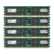 Kingston KVR13R9D4K4/64 Memoria RAM da 64 GB, Kit 4x16 GB, 1333 MHz, DDR3, ECC Reg CL9 DIMM, 240-pin