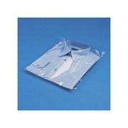 Gusseted self-seal polypropylene bags, 270x380mm, pack of 1000