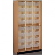 Stevens ID Systems Science Open Bin 83244 Z84-0 Color: Walnut