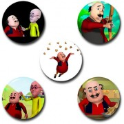 Capturing Happiness Multicolor 5.8cm Cartoon Badge