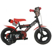 Dino Bikes 123 GLN-WWE - Wrestling Bicicletta, 12 Pollici
