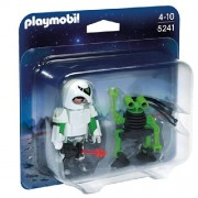Playmobil Spaceman con Spy Robot Duo Pack 5241 4+