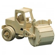 Puzzle eco 3D din lemn Compactor Pebaro