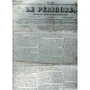 Le Perigord Journal Des Interets Nationaux Et Provinciaux N°185 1844 Périgueux Du Rapport De M.De Broglie - Les Journaux De Dublin Publient Les Affidavit Des Clercs De La Couronne Dressés ...