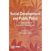 Social Development and Public Policy by Dharam Ghai