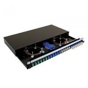 Accesoriu pentru rack: Fusion UK 1U SC/PC 24 OM1 Simplex echipat