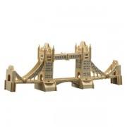 Puzzle eco 3D din lemn Podul Londrei Pebaro