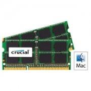 Mémoire RAM for Mac SO-DIMM 16 Go (2 x 8 Go) DDR3 1866 MHz CL13 PC14900 - CT2C8G3S186DM