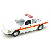 1998 Ford Crown Victoria [Motormax 76447], Fire Chief, 1:24 Die Cast