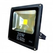 Fényvető / reflektor LED 20W, SLIM, IP66, fekete, 3000K-warm white