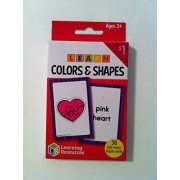 'Learning Resources - Learn Colors & Shapes Flash Cards' Ages 3+ (36) full-color cards