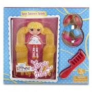 Lalaloopsy - Mini Loopy Hair Doll: Spot Splatter Splash muñeca (Bandai 522171)
