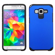 Funda Protector Mixto Samsung Galaxy Grand Prime Azul / Negro