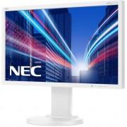 """Monitor TN LED Nec 23"""" E233WM, Full HD (1920 x 1080), VGA, DVI, DisplayPort, 5 ms, Boxe (Alb) + Ventilator de birou Esperanza EA149K, USB, 2.5W (Negru)"""