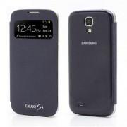 Husa Flip Samsung Galaxy Galaxy S IV S4 i9500 S-View Series Albastru Inchis