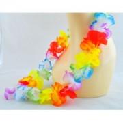 Havajské květy na krk