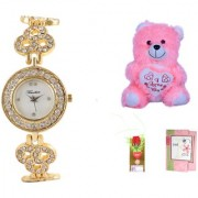 Timebre Women Teddy love Casual Analog Watch -005