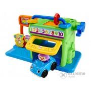Jucărie pentru bebeluși Fisher Price, micul garaj
