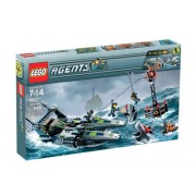 Lego Agents Speedboat Rescue