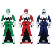Power Rangers Super Megaforce - Lost Galaxy Legendary Ranger Key Pack Red/Blue/Green