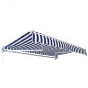 Tenda za zid ili plafon - Stripes 4x2.5 m plavobela