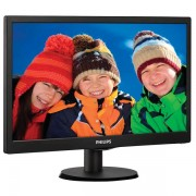 "Monitor LED PHILIPS 193V5LSB2/10, 18.5"", HD, negru"