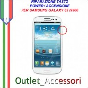 Riparazione per Samsung Galaxy S3 NEO I9301 Tasto Power Accensione switch Pulsante