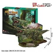 Cubic Fun Age of Dinos 3D Puzzle - Tyrannosaurus rex, P668H-36pcs