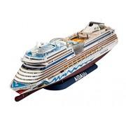 Revell 05230 - Cruiser Ship AIDAblu/AIDAsol/AIDAmar/AIDAstella Kit di Modello, in Plastica, in Scala 1:400