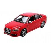 Bburago - 22104r - Audi - Rs4 - Escala 1/24