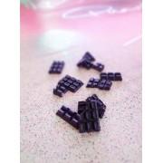 Dark Purple Chocolate Bars