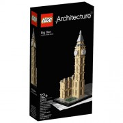 LEGO Architecture 21013 Big Ben, costruzione a 346 pezzi