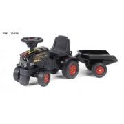 Falk 1085B Farm Kling Xline 300 - Tractor con remolque, color negro