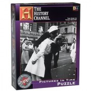 The History Channel The Kiss in Times Square Pictures in Time Puzzle