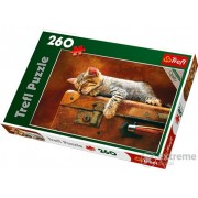 "Puzzle Trefl ""Sleeping cat"" 260 buc."