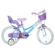 Dino Bikes - 146 R-FZ - Vélo pour fille 14 de 5 à 7 ans - Frozen
