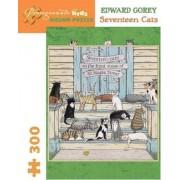 Seventeen Cats by Edward Gorey