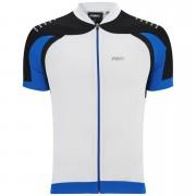 PBK Heritage Vernon Short Sleeve Jersey - Black/White/Blue - XL