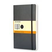 Moleskine Carnet ligné Format de poche Couverture souple noire 9 x 14 cm