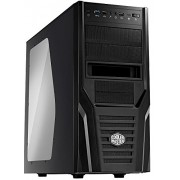 Cooler Master Elite 431 Plus - Mid Tower Computer Case with USB 3.0 and Windowed Side Panel