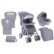 Детска количка LORELLI RIO SET Grey Friends 10020641645