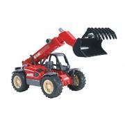 Bruder 2125 - Grúa de juguete con brazo telescópico