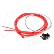 JAGWIRE 53085 Mountain Bike Disc Brake Line Tube Kit - Red
