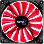 Ventilator Aerocool Shark Devil Red 12 cm