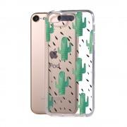 Cactus hoesje iPod Touch 5 en 6 doorzichtig TPU case